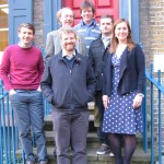 SPAB Scholars 2015 with Dorian Crone and Hugh Conway-Morris